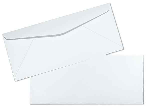 10 24lb white accent opaque smooth regular commercial envelopes