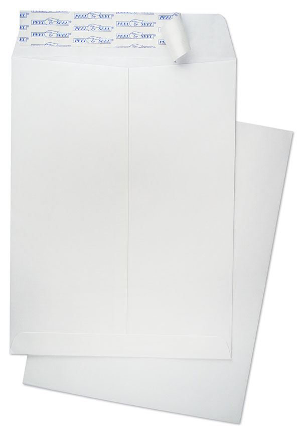 10 x 13 catalog 28lb white wove peel and seel catalog for 10x13 window envelope